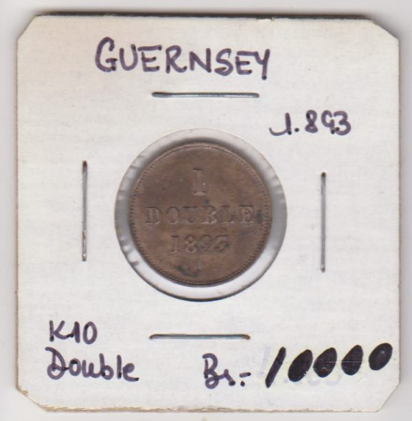 Guernsey 1 Double 1893